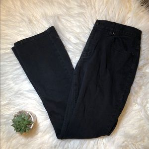 Ralph Lauren Bootcut Black Jeans in Sz. 6
